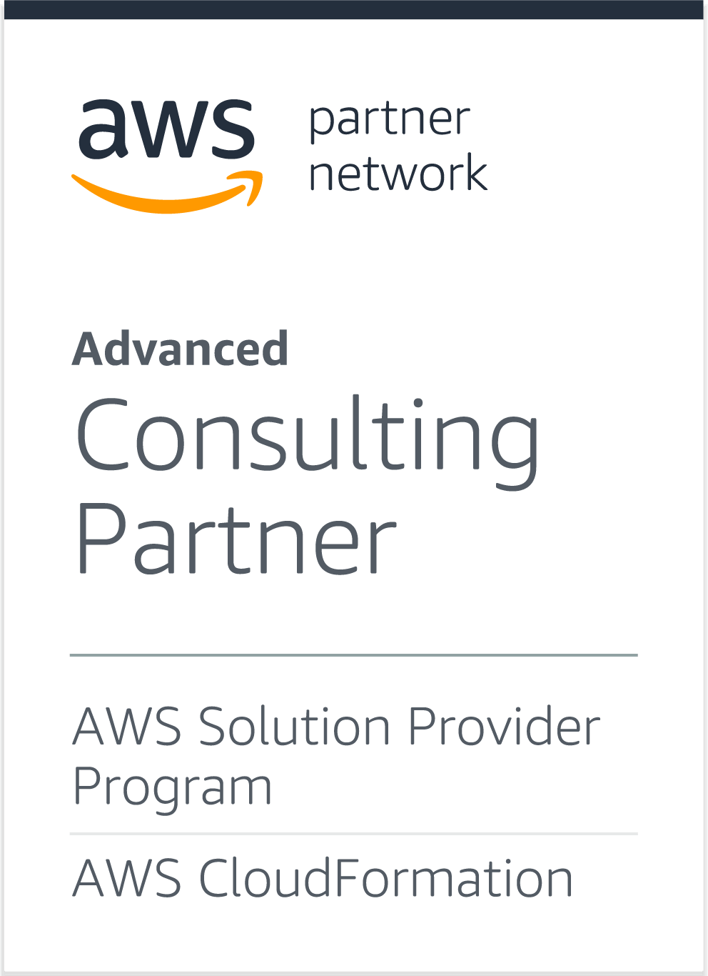 AWS Partner Network: Advanced Consulting Partner - AWS Solution Provider Program, AWS CloudFormation